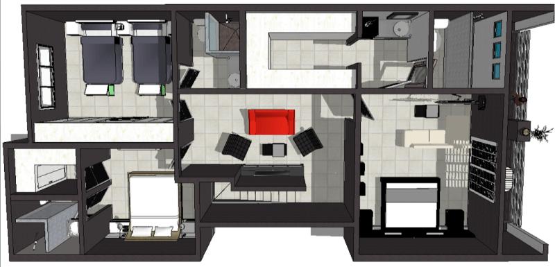Casas guri for Modelo de fachadas de viviendas